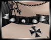 Spiked Iron Cross Collar