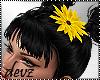 ! Flower on hair
