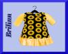 [B] Girlz Sunflower Top