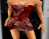 Red Dragon Cocktail Dres