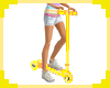 [S] Yellow Toy Scooter