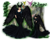 Maleficient wings