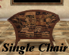 (AF) Brown Seating Chair