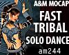 FAST TRIBAL solo dance F