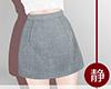 ☁ Casual Skirt l Jean
