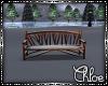 W~C Snowy Bench