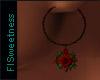 FLS Gothic Rose Earrings