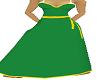 emerald green long dress