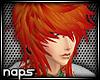 |N| Romy Emo Orange Hair