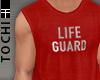 #T Vesto #Lifeguard Red