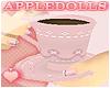 *A Flower Tea Cup - Pink