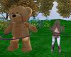Hula hoop Teddy Buddy