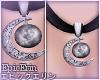 [E]*Moon Galaxy Necklace