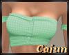 Summer Green Dotted Crop