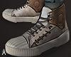 ! White Vintage Sneakers