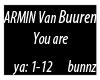 Armin van Buuren-You are