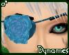 *Dy} Blue Rose Eyepatch
