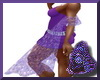Sheer Purple Shawl/Scarf