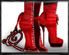 !Q Shoes Heels Red