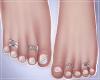 -S- Pastel Rainbow Feet