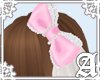 Dolly Cat Bow~ Pink