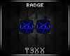!TX - Royal Penta Badges