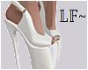 LF ~ Heels | White