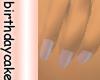 Soft Baby Pink Nails