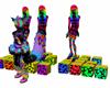 Rainbow Cat Dancers