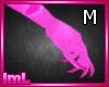 lmL Pink Claws M