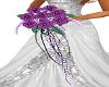 wedding bouquet lilac