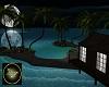 Small romantic island