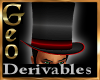 Geo Top Hat male Derive