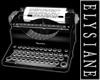 PI Office Blk Typewriter