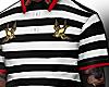 Swallow Bird Stripe Polo