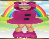 Kids Pink  Bear Outfit