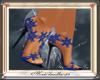[Mdh]Blue Snowflake Heel