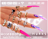 $ Pink Swirls - Nails XL