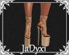 Lace Boots - Tan