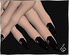 S. Black Nails
