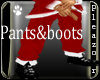 Playboy Santa Pants&Boot