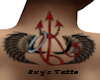 Sxy's Back Wings Tatto
