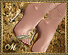 SEXY THING HEELS GOLD