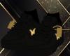 Custom Black AF1'S