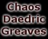 Chaos Daedric Greaves