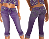TF* purple capri shorts