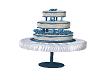 Ani Wedding Cake (Blue)