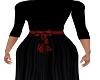 Evita Black Gown