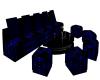 Couch Set Blue [DK]