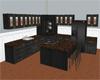 (20D) black kitchen